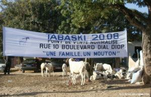 Un point de vente normalisé à Dakar