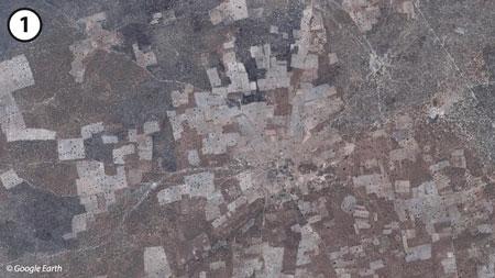 Sénégal-Les territoires de l'élevage-L'élevage et le zonage agro-climatique-Village vers Koungheul, Bassin arachidier (nov. 2007)